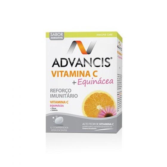 ADVANCIS VITAMINA C+ EQUINACEA COMPRIMIDOS EFERVESCENTES X 12