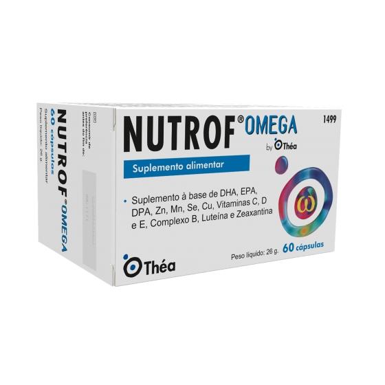 NUTROF OMEGA CAPSULAS X60