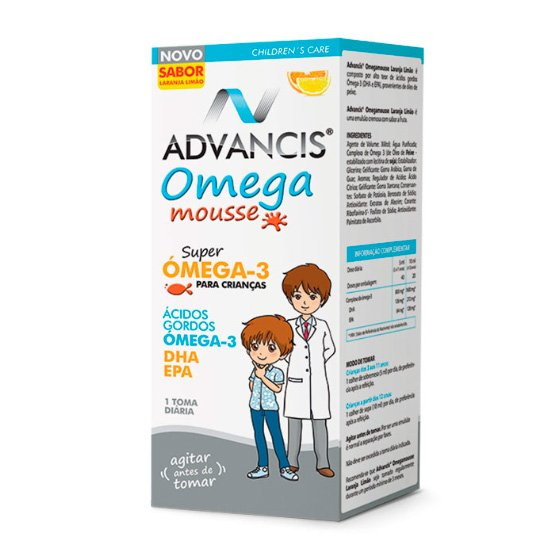 ADVANCIS OMEGA MOUSSE EMULSAO LARANJA/LIMA 100ML