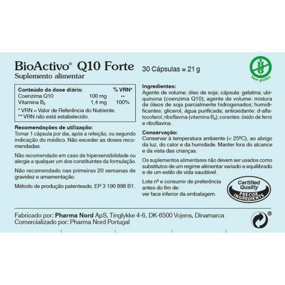 BIOACTIVO Q10 FORTE X30 CAPSULAS