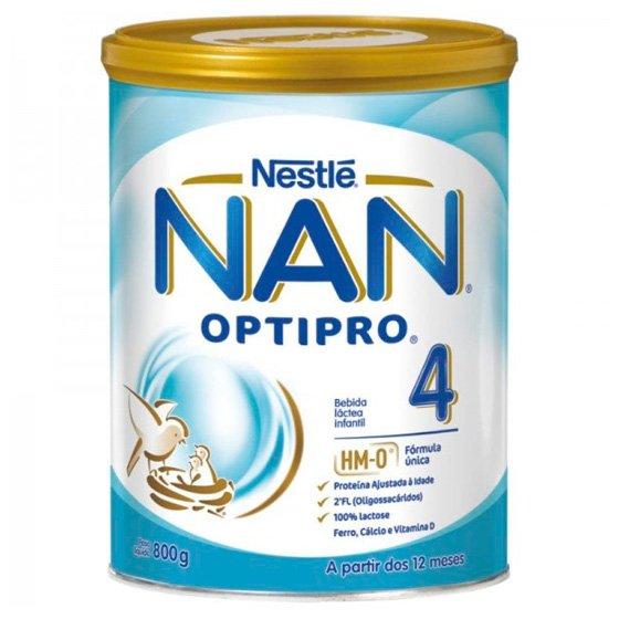 Nan + Crescidos solução oral Láctea Pó 800g