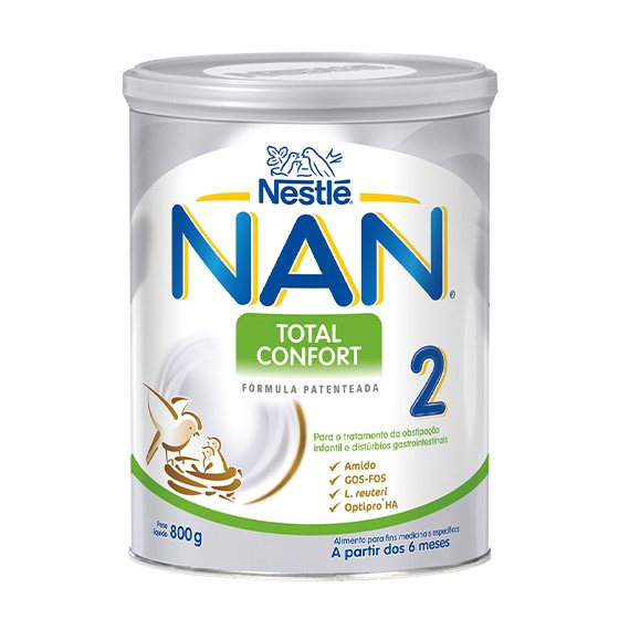 NAN TOTAL CONFORT 2 LEITE TRANSICAO 800G