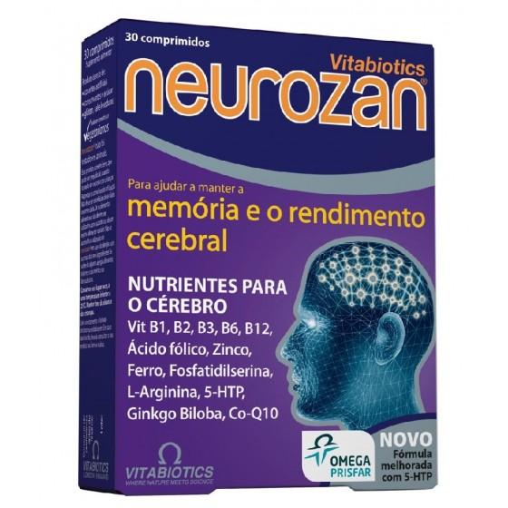 NEUROZAN COMPRIMIDOS RENDIMENTO CEREBRAL X 30