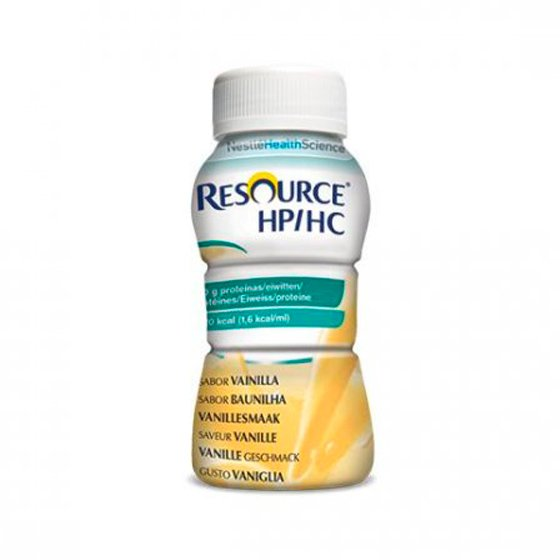 RESOURCE HP/HC SOLUCAO ORAL BAUNILHA 200 ML X 4