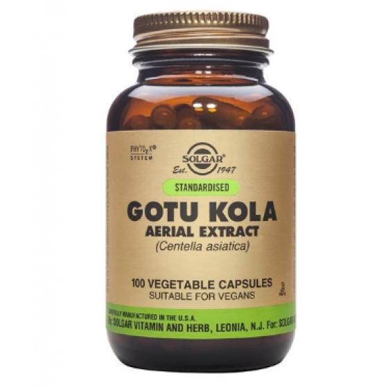 GOTU KOLA SOLGAR CAPSULAS X 100