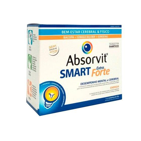 ABSORVIT SMART AMPOLAS EXTRA FORTE 10 ML X 30