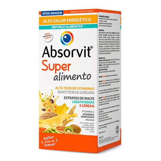 ABSORVIT XAROPE SUPER ALIMENTO 480ML