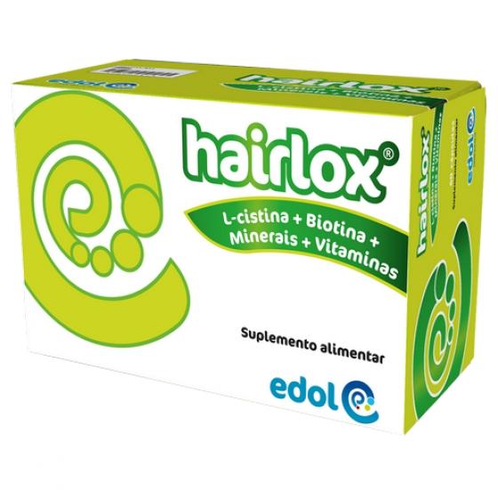 Edol Hairlox Revitalizante Cabelo E Unhas 60 Cápsulas