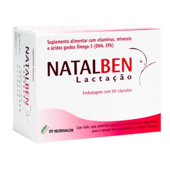 NATALBEN LACTACAO CAPSULAS X 60