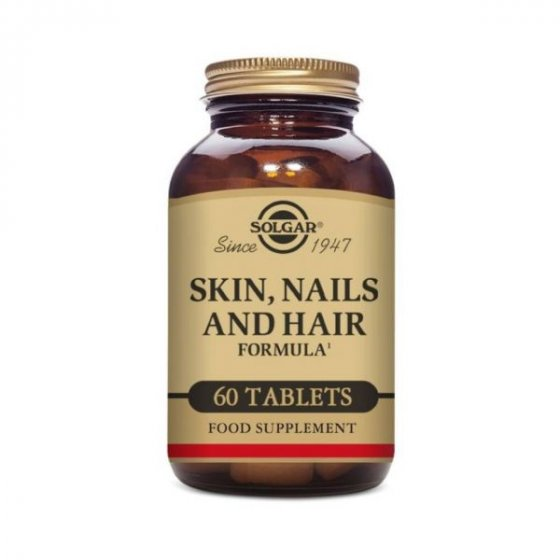 SKIN NAILS HAIR SOLGAR COMPRIMIDOS X 60