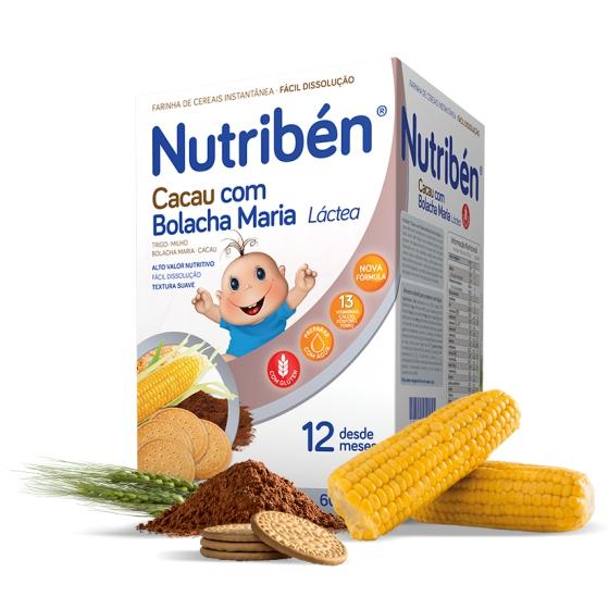 NUTRIBEN CACAU COM BOLACHA MARIA 2X300G