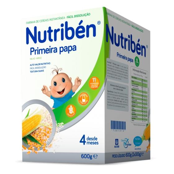 NUTRIBEN PRIMEIRA PAPA SEM LACTOSE 600G