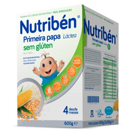 NUTRIBEN PRIMEIRA PAPA SEM GLÚTEN LÁCTEA 600G