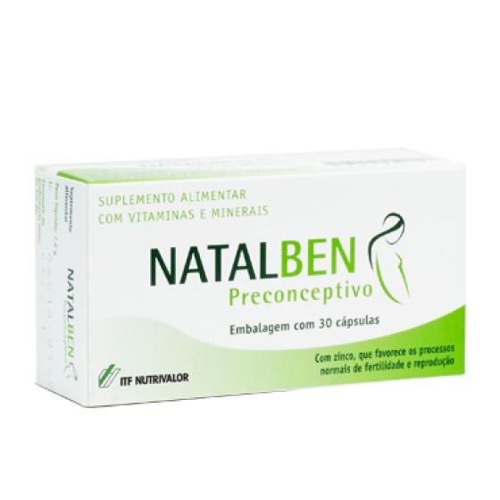 NATALBEN PRECONC CAPSULAS X 30