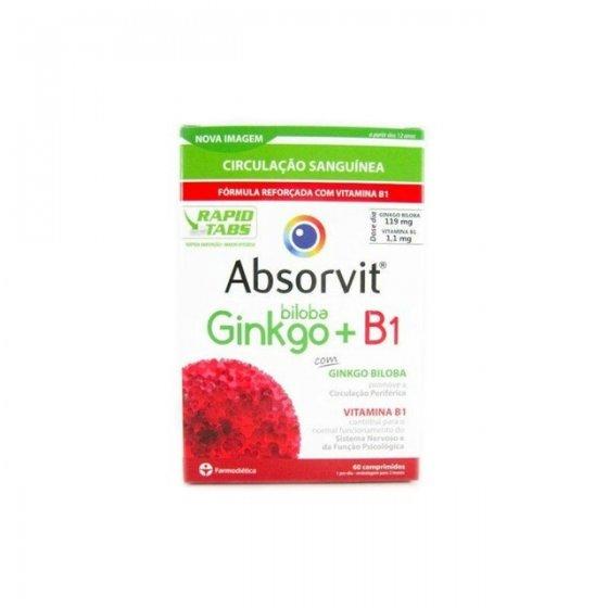 ABSORVIT GINKGO + B1 COMPRIMIDOS X 60