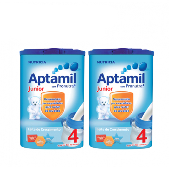 APTAMIL JUNIOR 4 LEITE CRESCIMENTO 800G PACK X 2