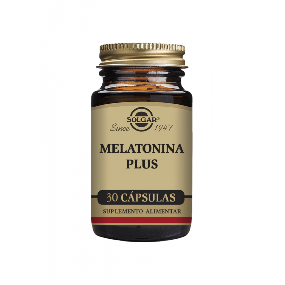 MELATONINA PLUS SOLGAR CAPSULAS X 30