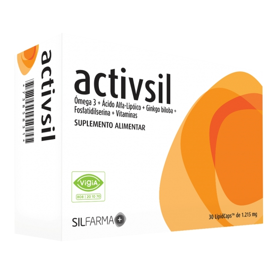 ACTIVSIL LIPID X30 CAPSULAS
