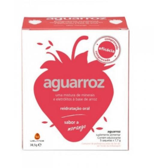 Águarroz 5 Saquetas Morango 5x7,7g