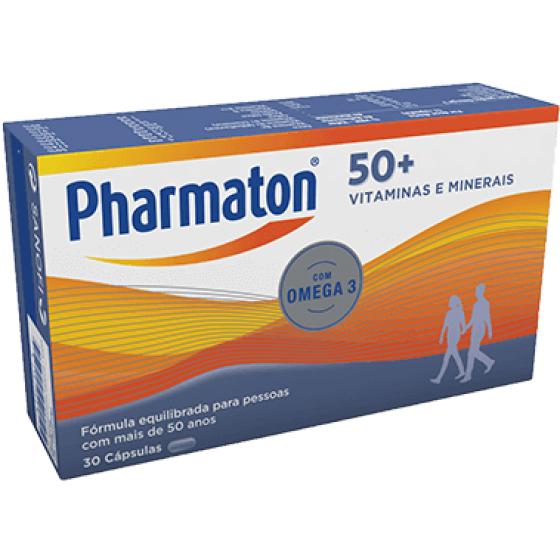 PHARMATON 50+ CAPSULAS X30