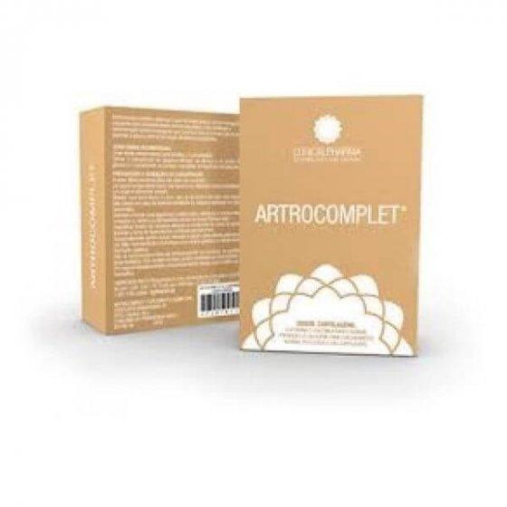 ARTROCOMPLET COMP X 60 COMPS GLUCOSAMINA CONDROITINA (SULFATO) METILSULFONILMETANO (MSM) HARPAGOFITO (HARPAGOPHYTUM PROCUMBENS) COLAGENIO