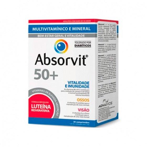 ABSORVIT 50+ X 30 COMPRIMIDOS