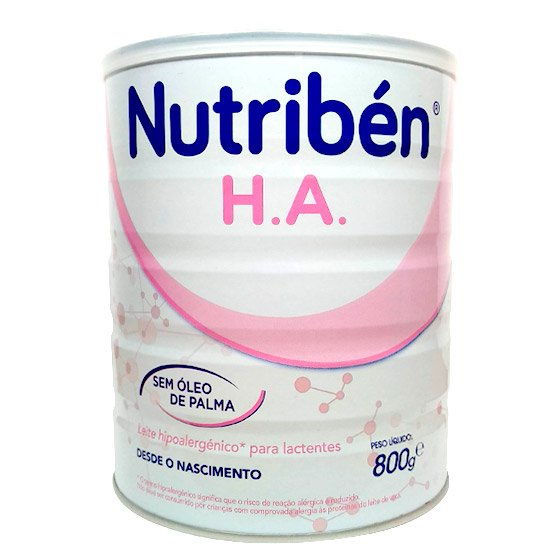 NUTRIBEN NATAL HA LEITE LACTENTES HIPOALERGENICO 800G