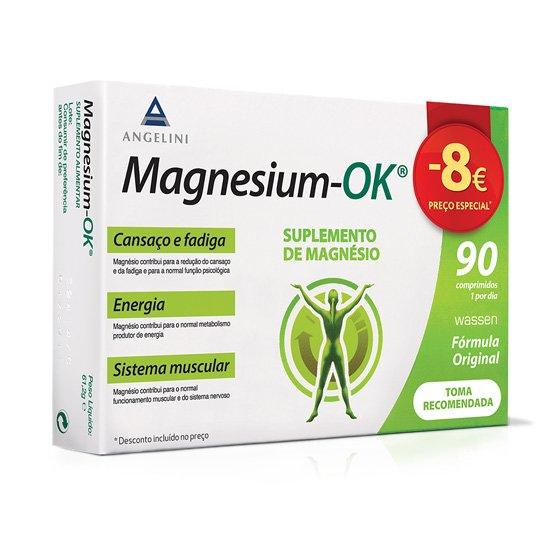 MAGNESIUM OK PROMO COMPRIMIDOS X 90