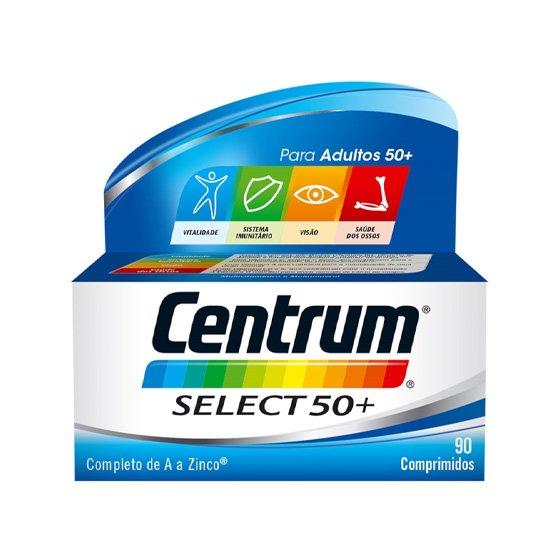 CENTRUM SELECT 50+ COMPRIMIDOS REVESTIDOS X 90