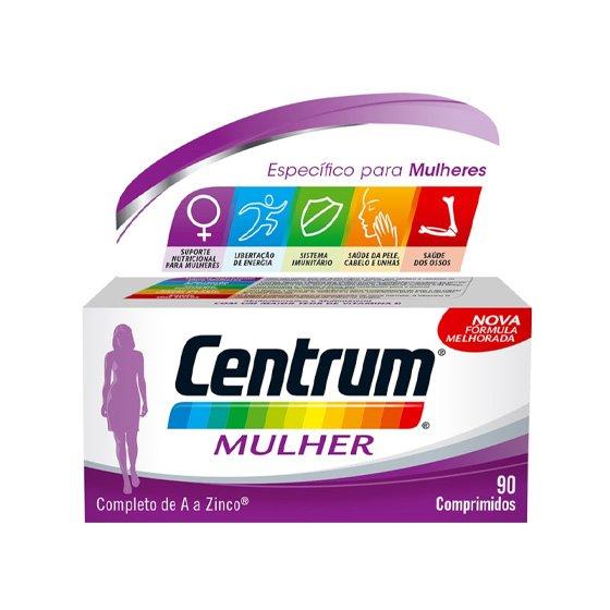 CENTRUM MULHER COMPRIMIDOS REVESTIDOS X 90