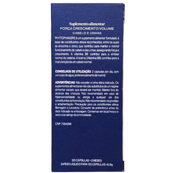 PHYTOPHANERE CAPSULAS X120 + OFERTA CAPSULAS X120