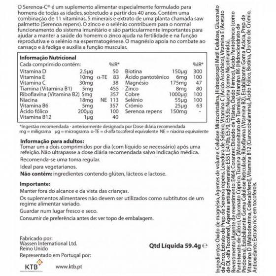 SERENOA C COMPRIMIDOS X90