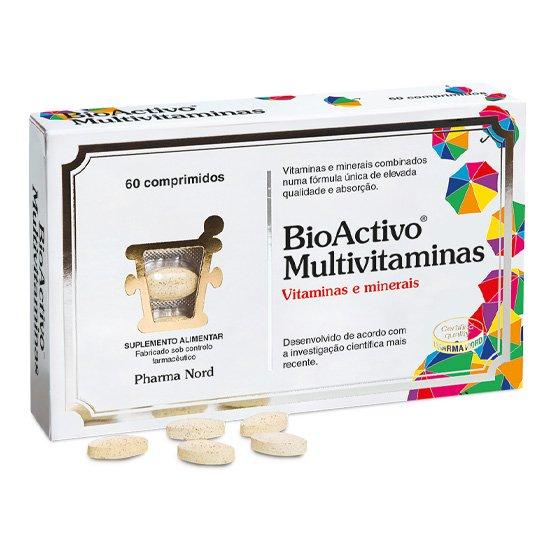 BIOACTIVO MULTIVITAMINAS X60 COMPRIMIDOS