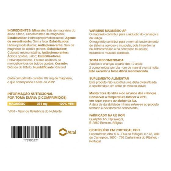 VARIMINE MAGNESIO AP COMPRIMIDOS X60