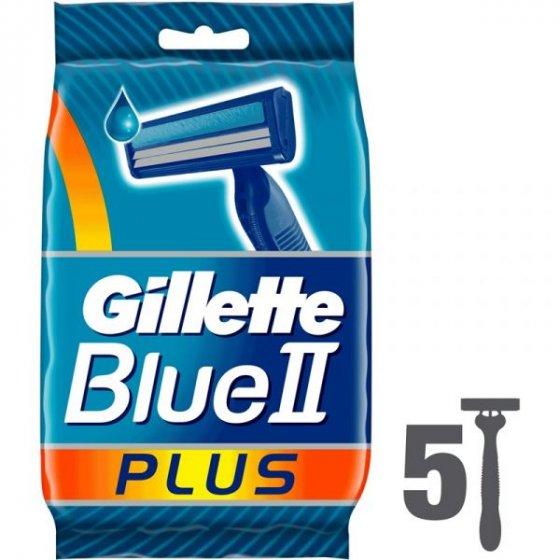 GILLETTE LAMINAS BARBEAR BLUE II PLUS PACK DE 5