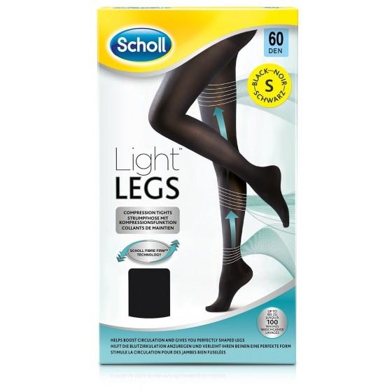 SCHOLL LIGHT LEGS COLLANT COMPRESSAO 60DEN S PRETO