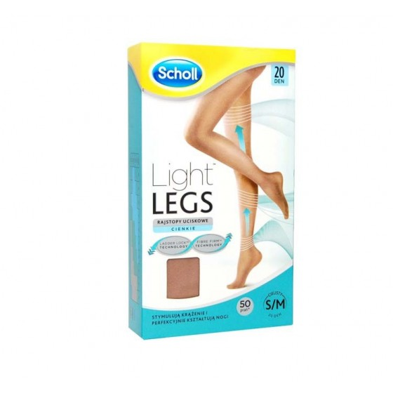 SCHOLL LIGHT LEGS COLLANT COMPRESSAO 20DEN S PELE