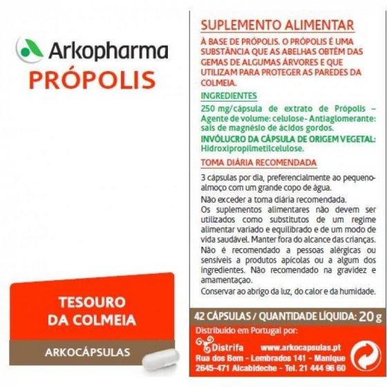 ARKOCAPSULAS PROPOLIS CAPSULAS X 42