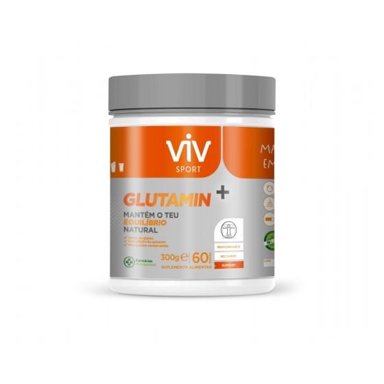 VIV SPORT GLUTAMIN+ PO 300G PO SOLUCAO ORAL MEDIDA GLUTAMINA