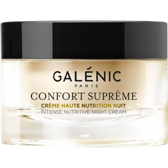 GALÉNIC Galénic Confort Suprême Creme Elevada Nutrição Noite para pele seca. Embalagem de 50 ml