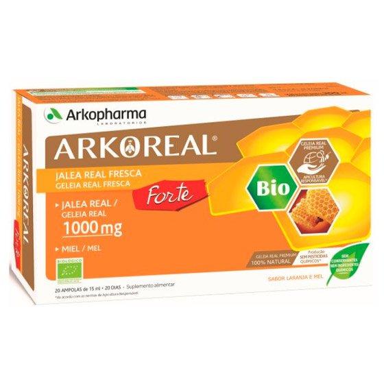 ARKOREAL GELEIA REAL 1000MG FORTE AMPOLAS X 20 AMP