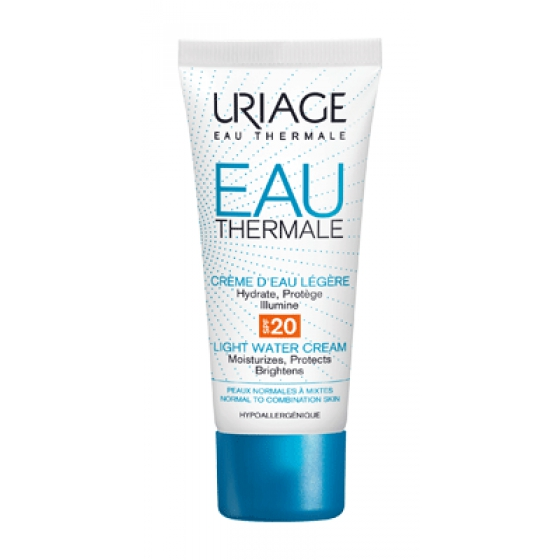 URIAGE EAU THERMAL CREME AGUA LIGEIRO SPF20 40ML