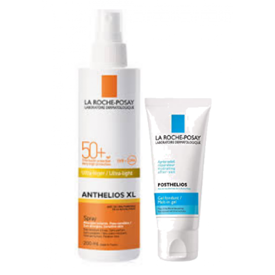 La Roche-Posay ANTHELIOS SPRAY FP50+ OFERTA POSTHELIOS 100ML