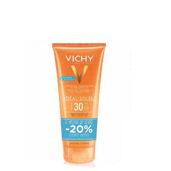 VICHY IDEAL SOLEIL GEL LEITE FP30+DESCONTO20%