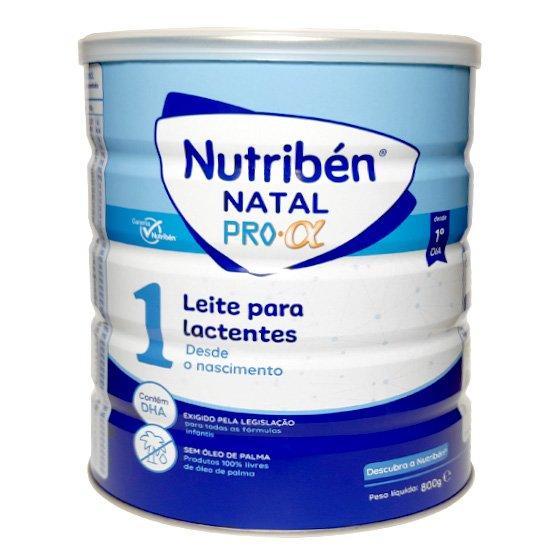 NUTRIBEN NATAL PRO-ALFA LEITE LACTENTES 800G