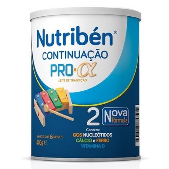 NUTRIBEN CONTINUACAO PRO-ALFA LEITE TRANSICAO 400G