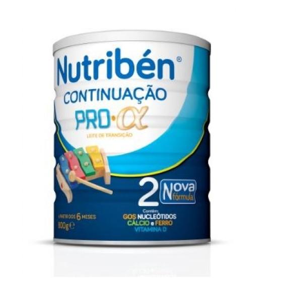 NUTRIBEN CONTINUACAO PRO-ALFA LEITE TRANSICAO 800G