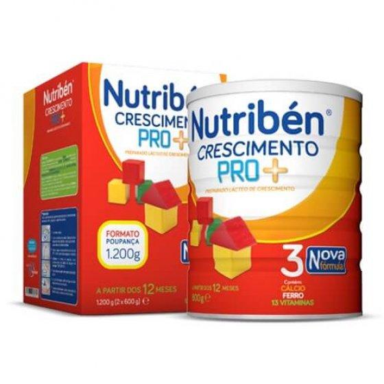 NUTRIBEN CRESCIMENTO PRO+ LEITE 2 X 600G