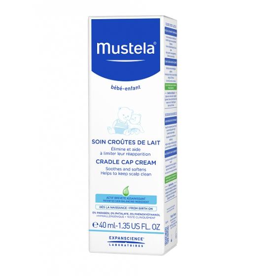 MUSTELA BEBE CUIDADO CREME CROSTA LACTEA 40ML