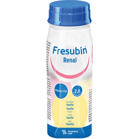 FRESUBIN RENAL BAUNILHA 4X200ML